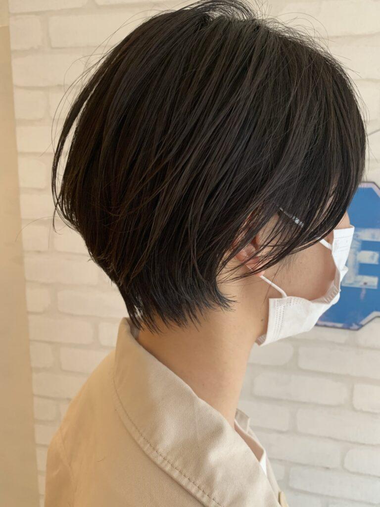 マスクをしてても可愛い時代のスタイルショート